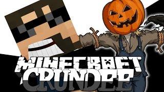 Minecraft: CRUNDEE CRAFT | TROLL SCARECROW?! [12]