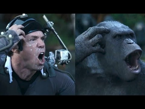 Dawn Of The Planet of The Apes MOTION CAPTURE Clip