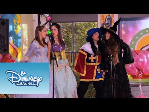 Violetta - Momento musical: ¨Algo suena en mi¨ en la fiesta de disfraces