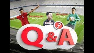 "Video Q&A (Question and Answear) Pemain bola ""Terbaik"" U-16 Zico & Dhani #RezaTama MP3, 3GP, MP4, WEBM, AVI, FLV September 2018"