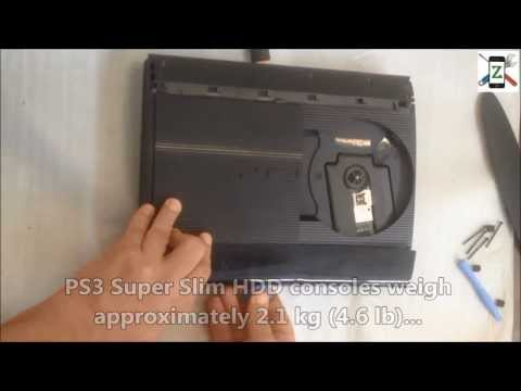 comment demonter ps3 ultra slim
