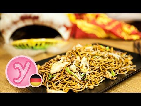 Asiatische Nudeln selber machen
