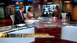 Abbey Klaassen, editor of Advertising Age, talks to Charlie Rose and Gayle King about the controversy surrounding a new Nike...