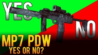 Yes or No - MP7 Personal Defense Weapon (PDW) Review - Battlefield 4 (BF4)