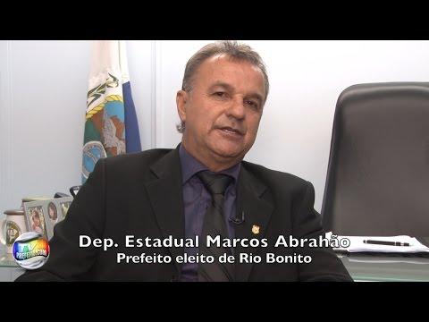 ENTREVISTA COM DEPUTADO MARCOS ABRAHÃO PREFEITO ELEITO EM RIO BONITO - TvPrefeito.com