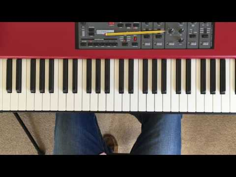 How to create a chord progression on the piano for songwriting or improvisation