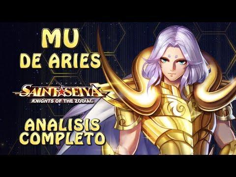 MU DE ARIES!! ANALISIS COMPLETO! REY DEL COUNTER!! Saint Seiya Awakening