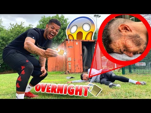 LOCKING BILLY INSIDE A CONTAINER OVERNIGHT! #F2PRANKWARS *Gone Too Far* 😱🔒😂