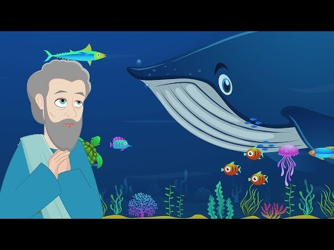 Jonah and the Whale   Stories of God I Animated Children's Bible Stories   Bedtime Stories For Kids