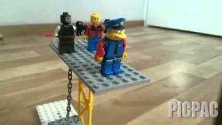 Lego animatio kill police part 1 #picpac #stopmotion