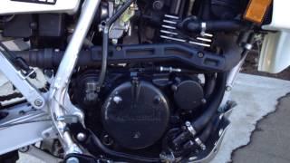 8. 1992 Kawasaki KLR250 KLR