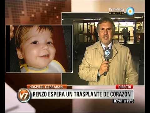 Visión 7: Hospital Garrahan: Renzo necesita un trasplante de corazón