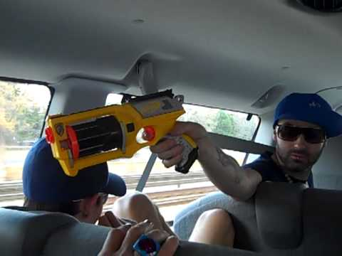 Nerfgun to tha Face! Van Shenanagins Part 2