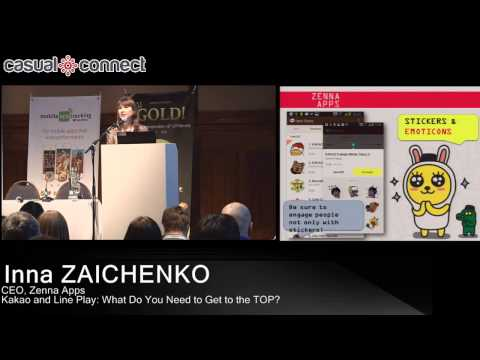 Kakao Games: How to Get to the Top | Inna ZAICHENKO | CasualConnect Europe, February 2014