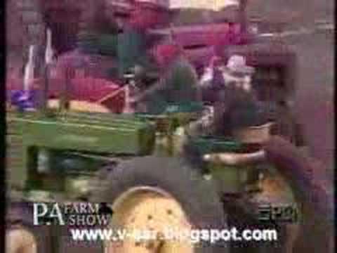 Tractors square dancing