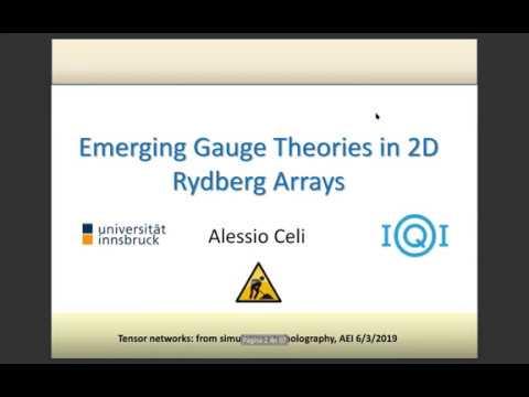 Workshop Talk: Alessio Celi