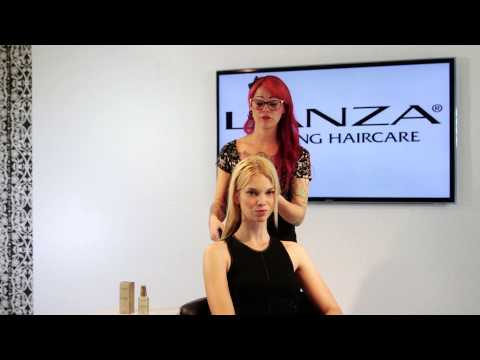 how to use l'anza keratin healing oil