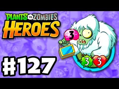 Zombie Yeti! - Plants vs. Zombies: Heroes - Gameplay Walkthrough Part 127 (iOS, Android) (видео)