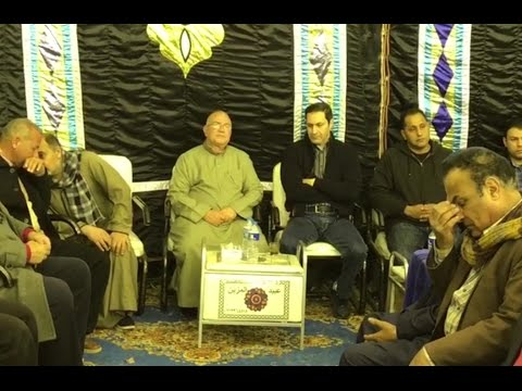 مواطنون يحاصرون «علاء مبارك» في عزاء والد «أبوتريكة»
