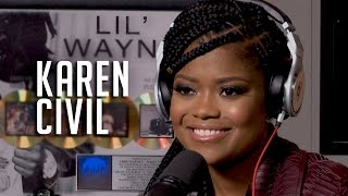 Hot 97 - Karen Civil Talks New Book + Lil Wayne & Birdman Beef
