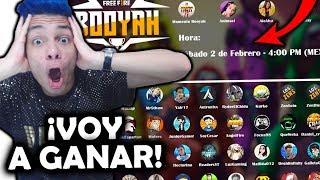 ¡TORNEO DE YOUTUBERS BOOYAH 2019 FREE FIRE! *voy a ganar*