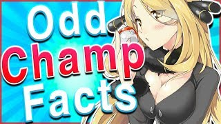 Cynthia's SECRET?? 10 Odd Facts About Pokémon Champions by HoopsandHipHop