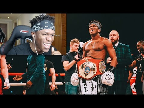 REACTING TO THE KSI WELLER FIGHT (видео)
