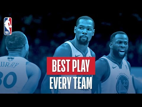 Best Play From Every NBA Team | 2017-2018 NBA Season (видео)