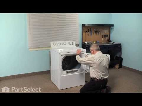 Dryer Repair – Replacing the Safety Thermostat (GE Part # WE4M137)