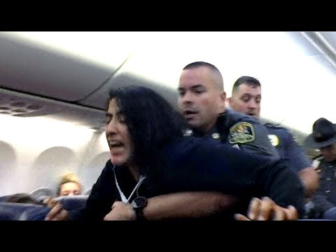 Woman forcibly removed off Southwest flight