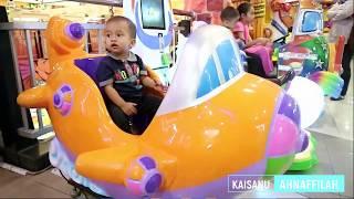 Asiknya Naik Odong-odong Kapal Kapalan Mainan Anak - Lagu Dua Mata Saya