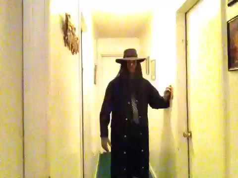 My WWE / WWF Undertaker Costume. 90's Version.
