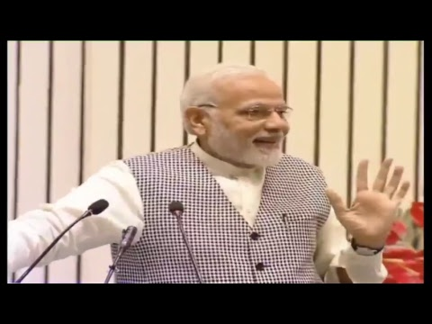 PM Shri Narendra Modi addresses CPSE Conclave at Vigyan Bhawan, New Delhi : 09.04.2018