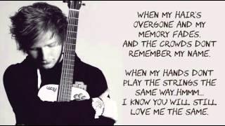 download lagu download musik download mp3 Thinking Out Loud by  Ed Sheeran ( LYRICS MUSIC )