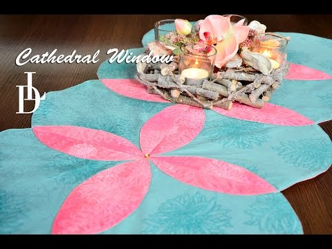 tutorial patchwork - how to make a great centerpiece