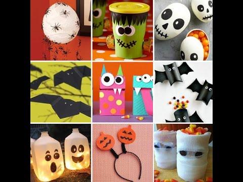 Поделку на хэллоуин