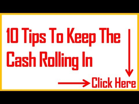 0 10 More Tips To Improve Cash Flow
