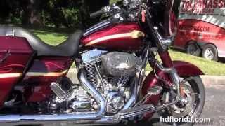 7. Used 2010 Harley Davidson CVO Street Glide Motorcycles for sale