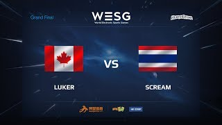 Luker vs ScreaM, game 1
