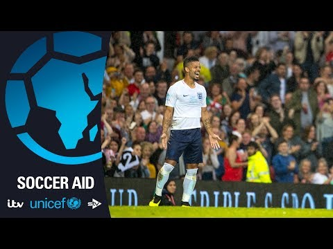 Jeremy Lynch Scores Second Goal For England | Soccer Aid For Unicef