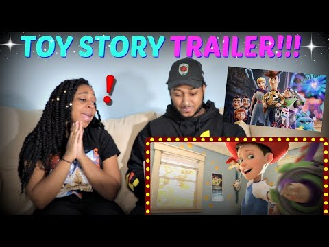 """Toy Story 4"" Official Trailer REACTION!!!!"