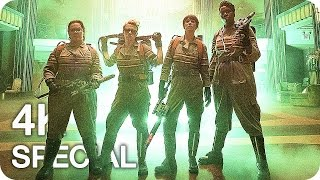 GHOSTBUSTERS Clips, Featurettes & Trailer (2016) by New Trailers Buzz