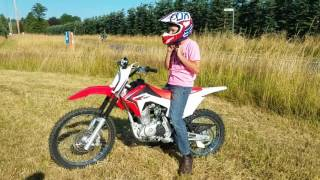 8. CRF 125 big wheel🤣
