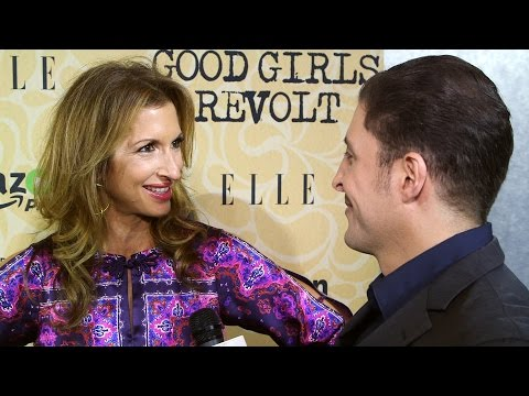 "Alysia Reiner at the ""Good Girls Revolt"" Premiere Behind The Velvet Rope with Arthur Kade"
