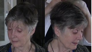 Video Tips for Short Hairstyles - 78 yr old Model Mary MP3, 3GP, MP4, WEBM, AVI, FLV Agustus 2019