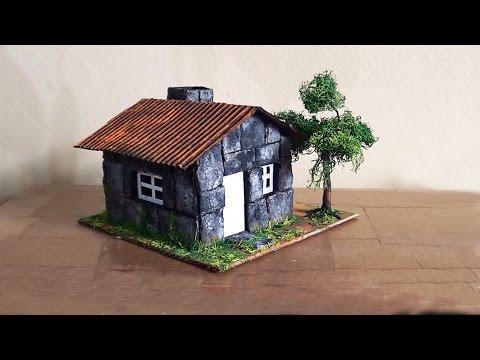 Maquete Casa de Pedra