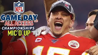 NFL Conference Championships Mic'd Up, Of course I'll make a play! | Game Day All Access by NFL