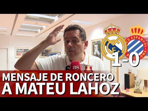 Real Madrid 1-0 Espanyol | El análisis de Roncero con mensaje a Mateu Lahoz | Diario AS