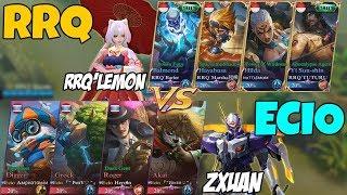 Video Squad BARU Zxuan(ECIO TOP 2 Global Squad) Lawan Squadnya RRQ'Lemon(O2 RRQ TOP Indo Squad) MP3, 3GP, MP4, WEBM, AVI, FLV Februari 2018