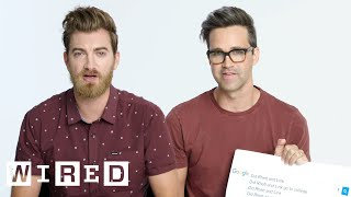 Video Rhett & Link Answer the Web's Most Searched Questions | WIRED MP3, 3GP, MP4, WEBM, AVI, FLV Mei 2019